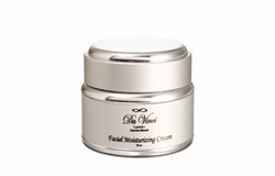 001-SCP Organic Facial Moisturizing Cream In Silver Jar